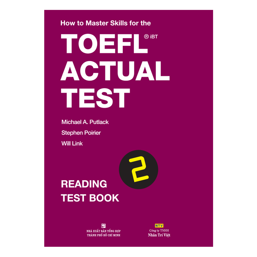 Bìa sách How To Master Skills For The TOEFL iBT Actual Test: Reading Test Book 2