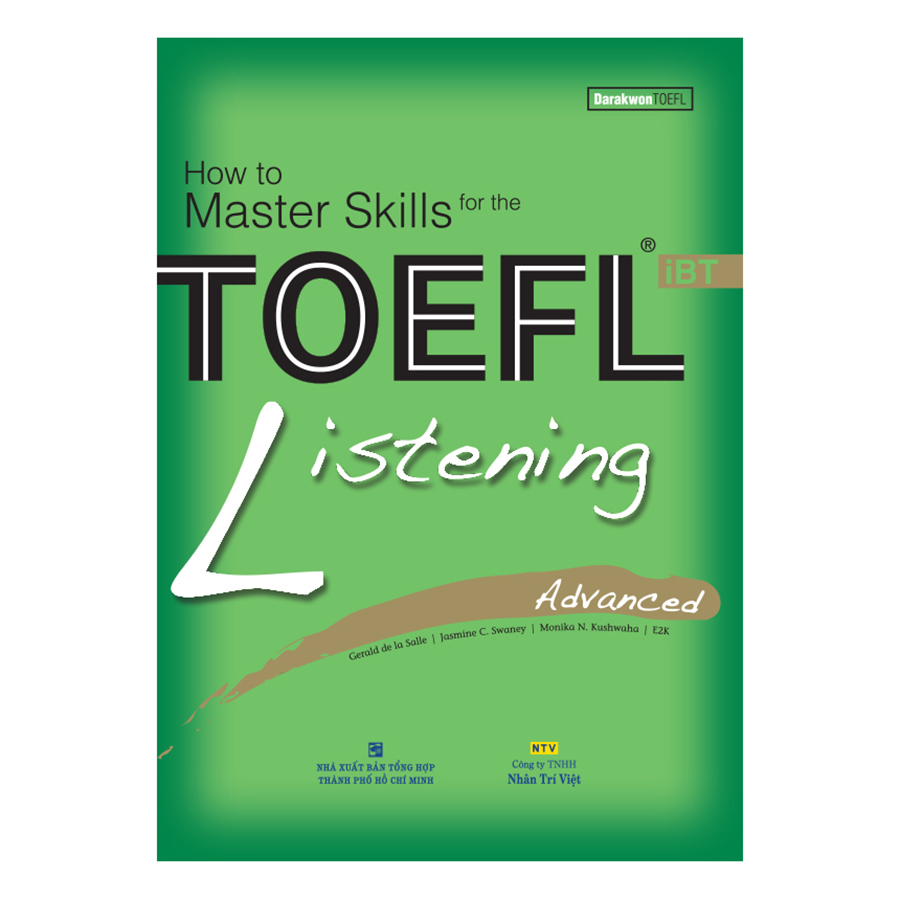 Bìa sách How To Master Skills For The TOEFL iBT: Listening Advanced (With Audio CD)