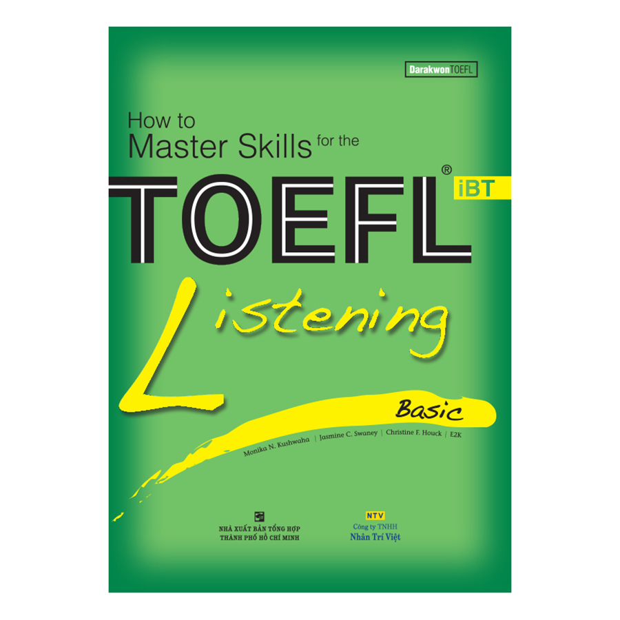 Bìa sách How To Master Skills For The TOEFL iBT: Listening Basic (With Audio CD)