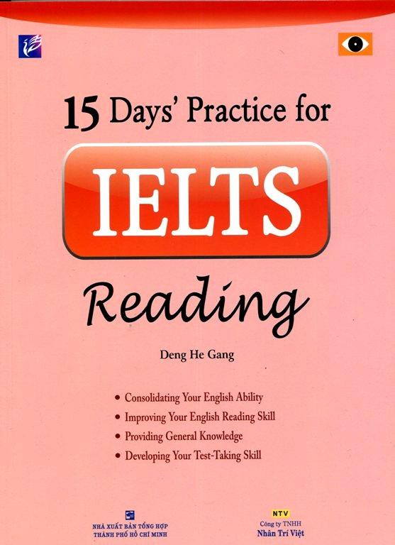 Bìa sách 15 Days IELTS Reading (Không CD)