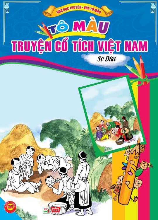 Review sách Tô Màu Truyện Cổ Tích Việt Nam – Sọ Dừa