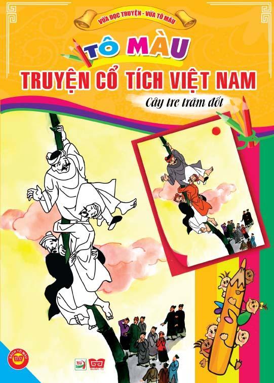 Bìa sách Tô Màu Truyện Cổ Tích Việt Nam - Cây Tre Trăm Đốt