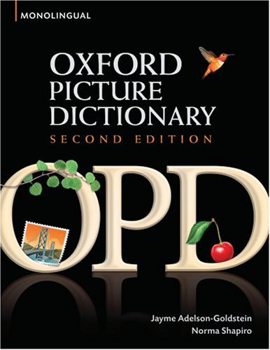 Review sách Oxford Picture Dictionary 2rd Edition – Monolingual