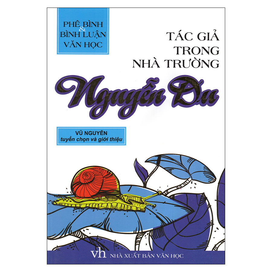 Bìa sách Tác Giả Trong Nhà Trường - Nguyễn Du