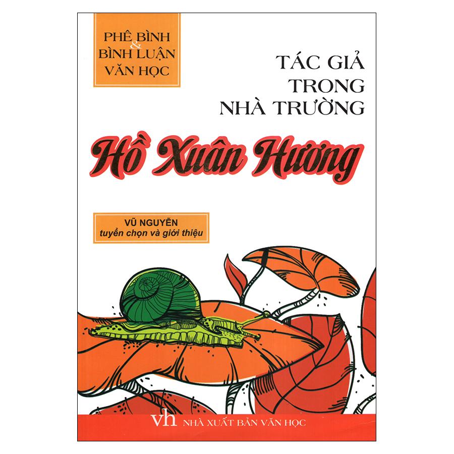 Bìa sách Tác Giả Trong Nhà Trường - Hồ Xuân Hương