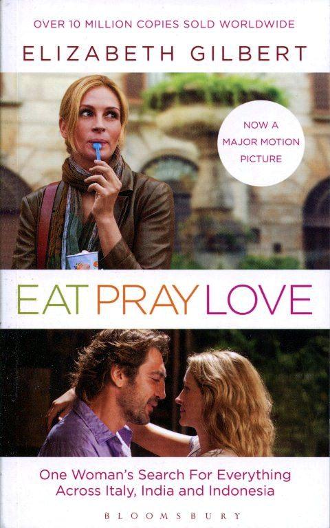 Bìa sách Eat Pray Love