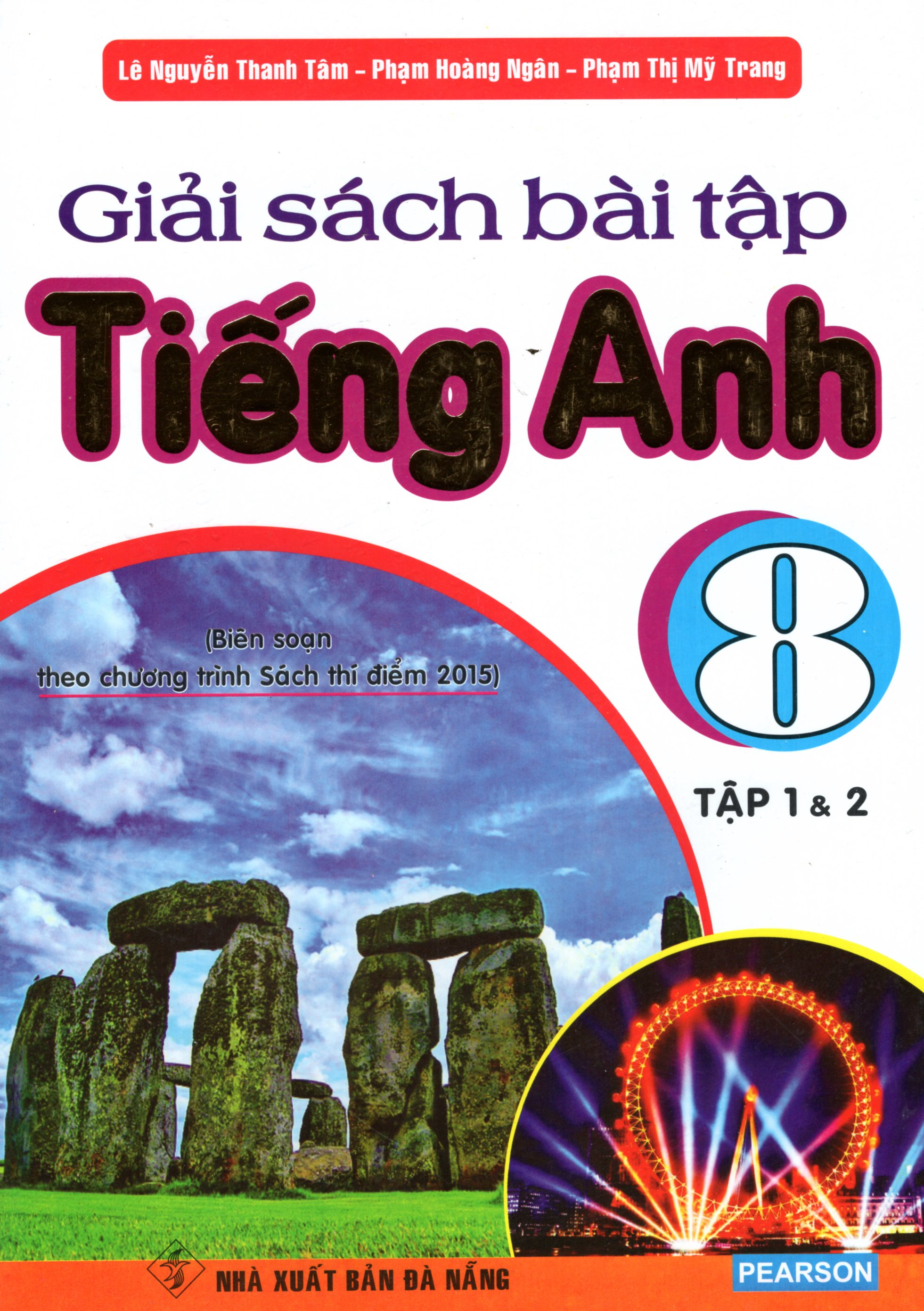 Bìa sách Giải Sách Bài Tập Tiếng Anh 8