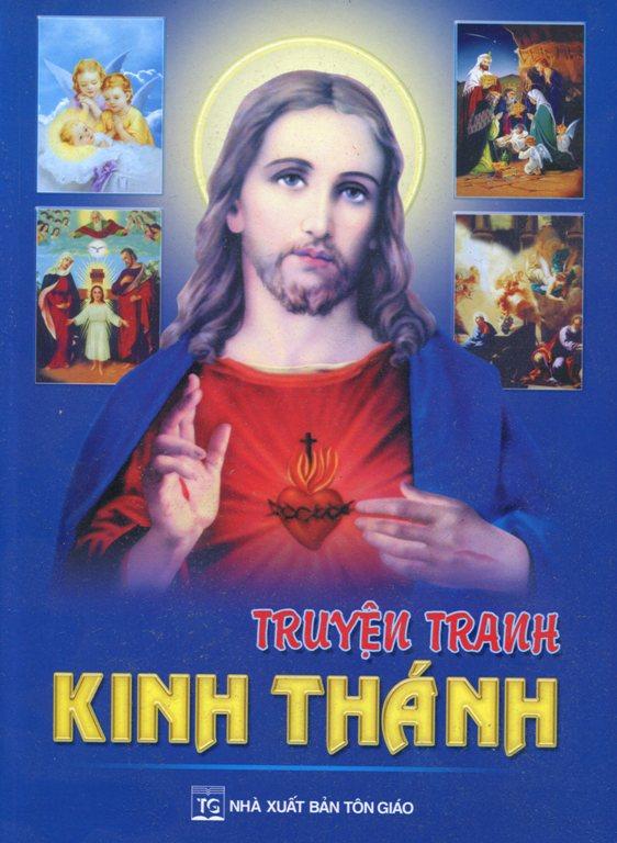 Bìa sách Truyện Tranh Kinh Thánh