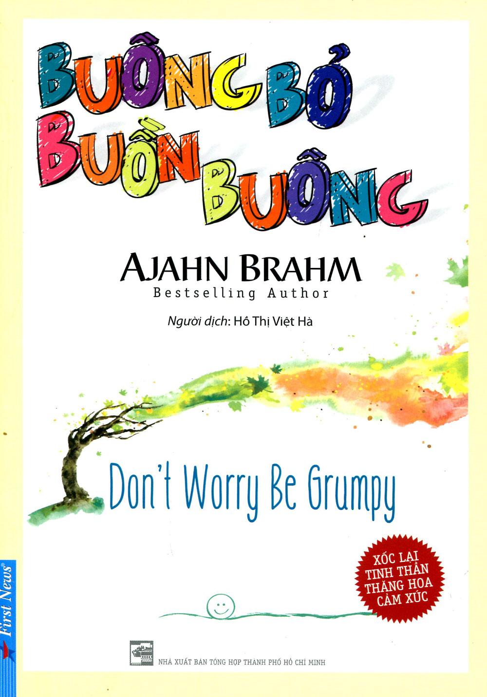 Bìa sách Buông Bỏ Buồn Buông