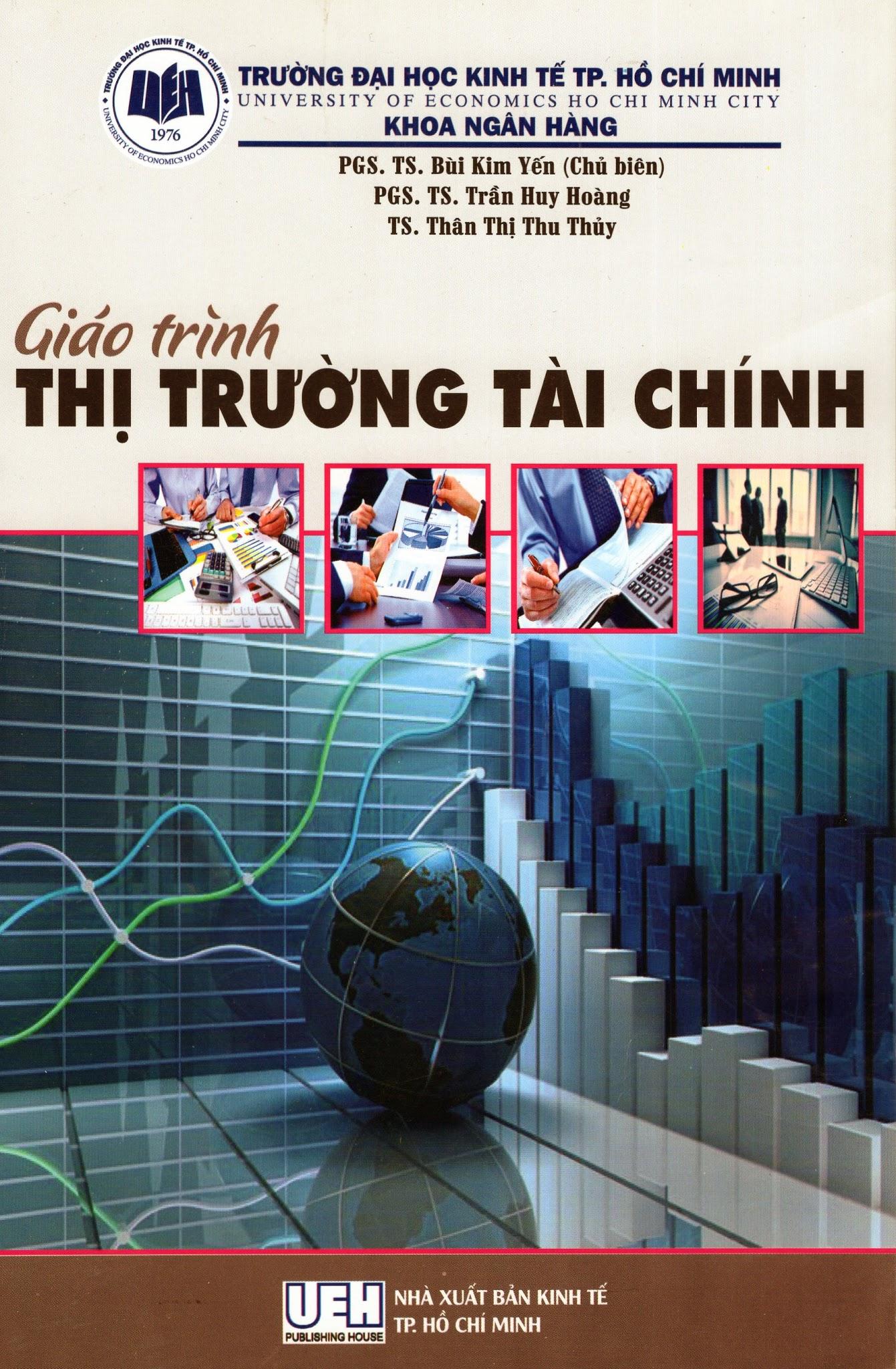 Bìa sách Giáo Trình Thị Trường Tài Chính
