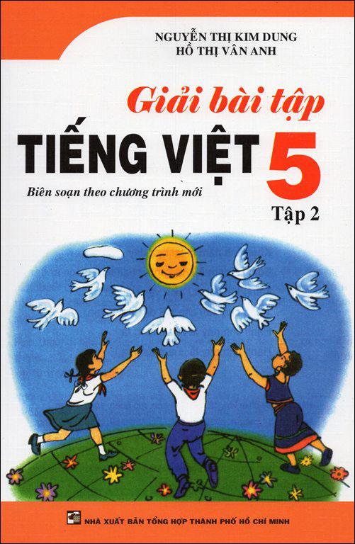 Bìa sách Giải Bài Tập Tiếng Việt Lớp 5 Tập 2