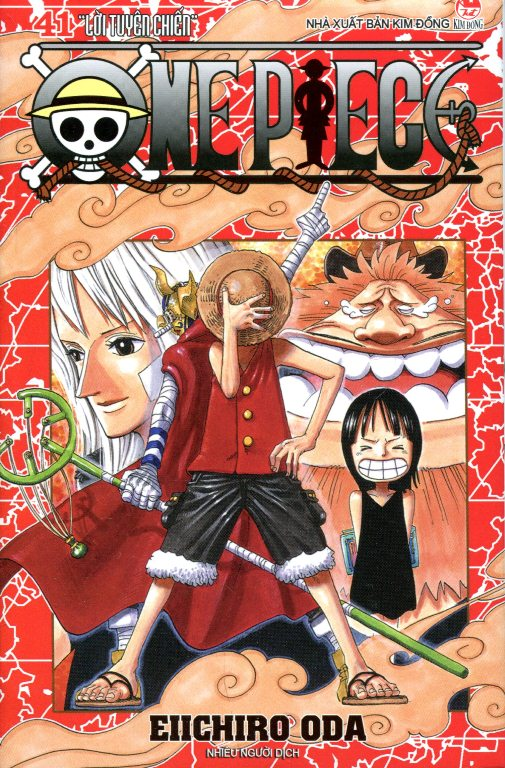 Review sách One Piece – Tập 41