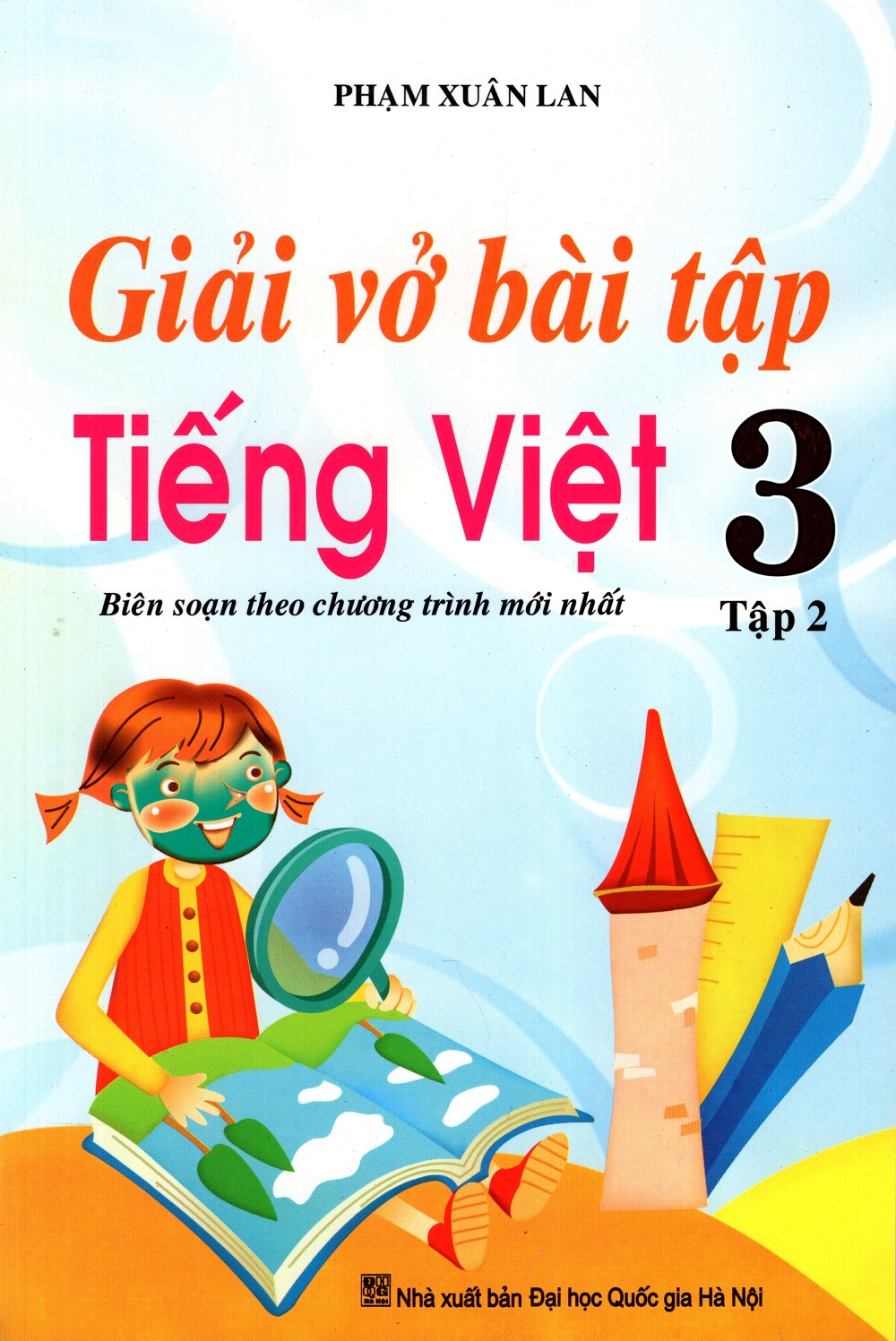 Bìa sách Giải Vở Bài Tập Tiếng Việt Lớp 3 (Tập 2) (2016)