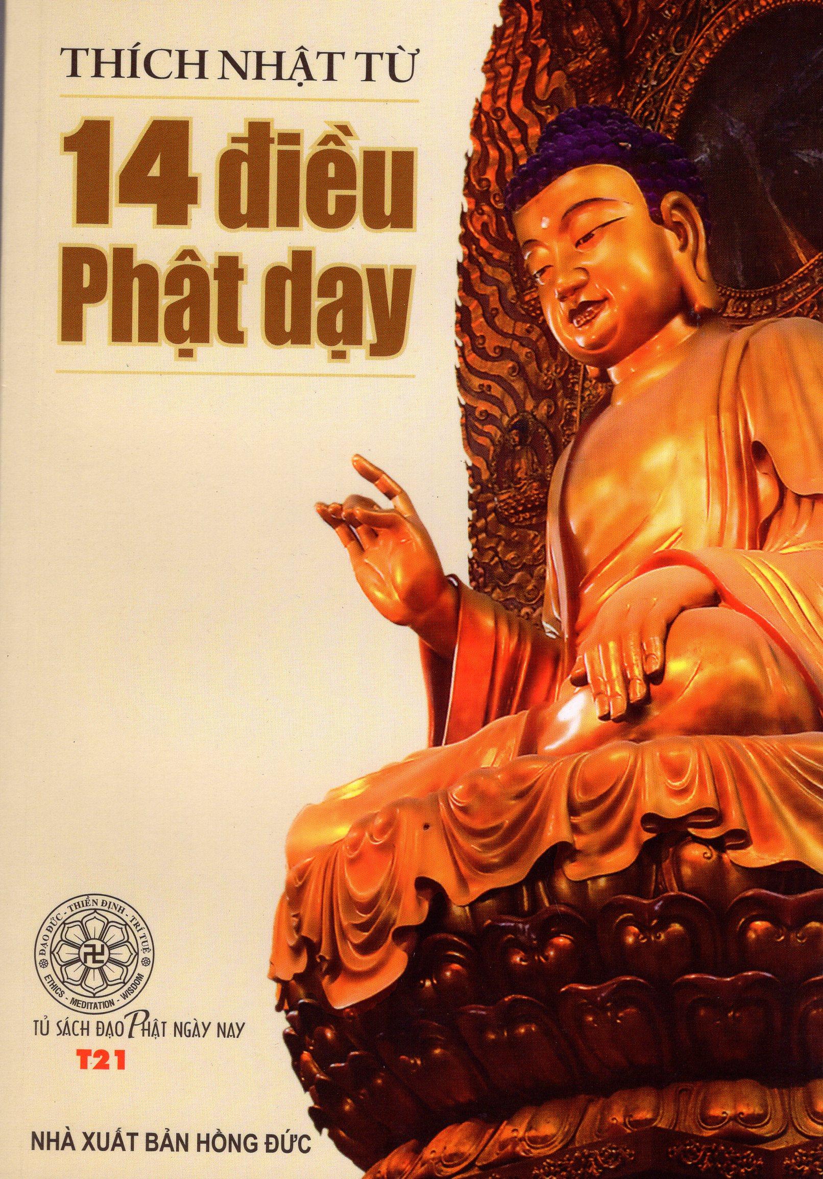 Bìa sách 14 Điều Phật Dạy