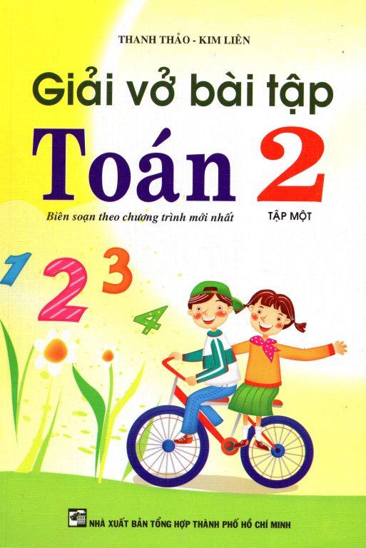 Bìa sách Giải Vở Bài Tập Toán 2 Tập Một