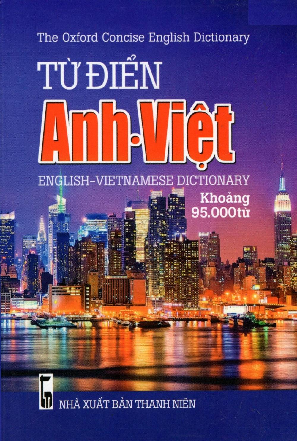 Bìa sách Từ Điển Anh - Việt (Khoảng 95.000 Từ) - Sách Bỏ Túi
