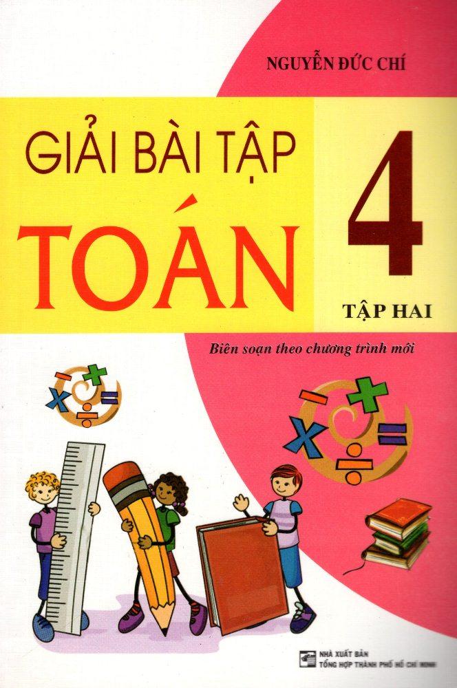 Bìa sách Giải Bài Tập Toán Lớp 4 (Tập 2) (2013)