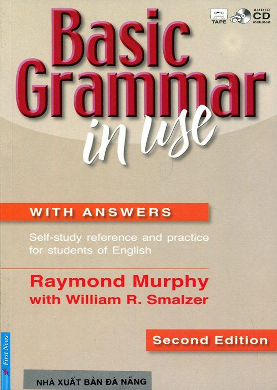 Bìa sách Basic Grammar In Use (Kèm CD)