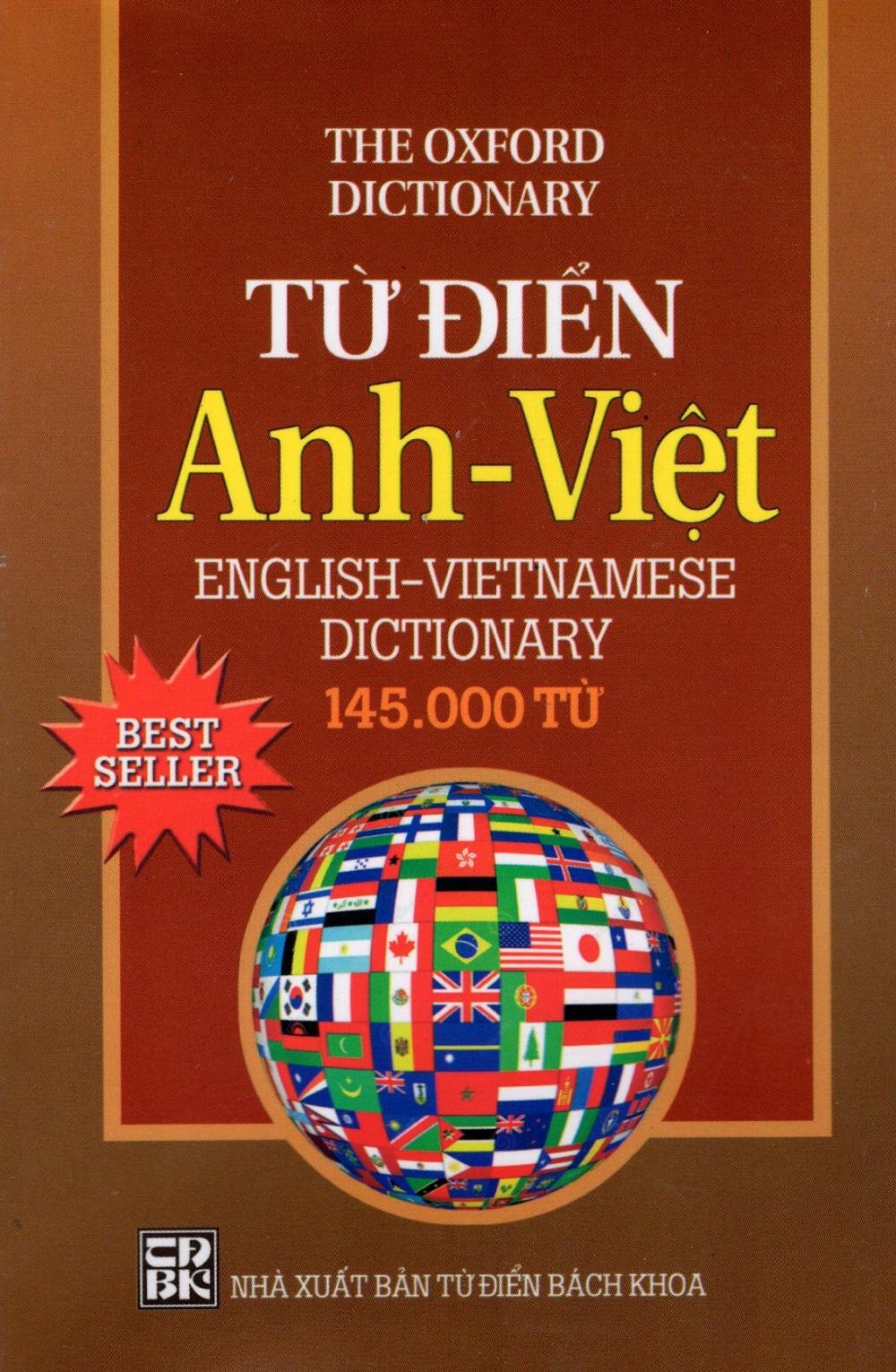 Bìa sách Từ Điển Anh - Việt (145.000 Từ) - Sách Bỏ Túi