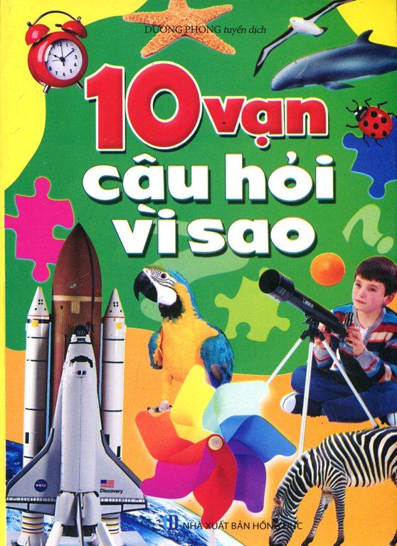 Bìa sách 10 Vạn Câu Hỏi Vì Sao?
