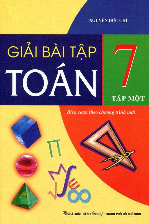 Bìa sách Giải Bài Tập Toán Lớp 7 - Tập 1