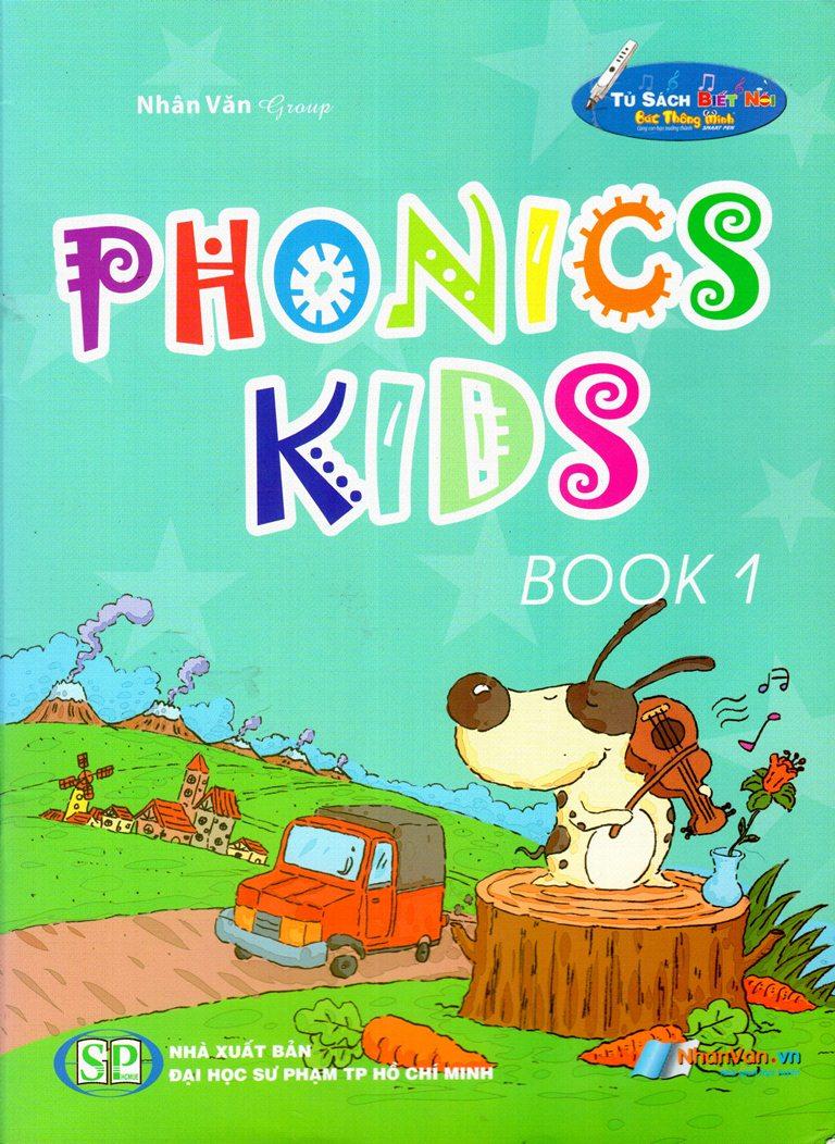 Bìa sách Phonics Kids (Book 1)