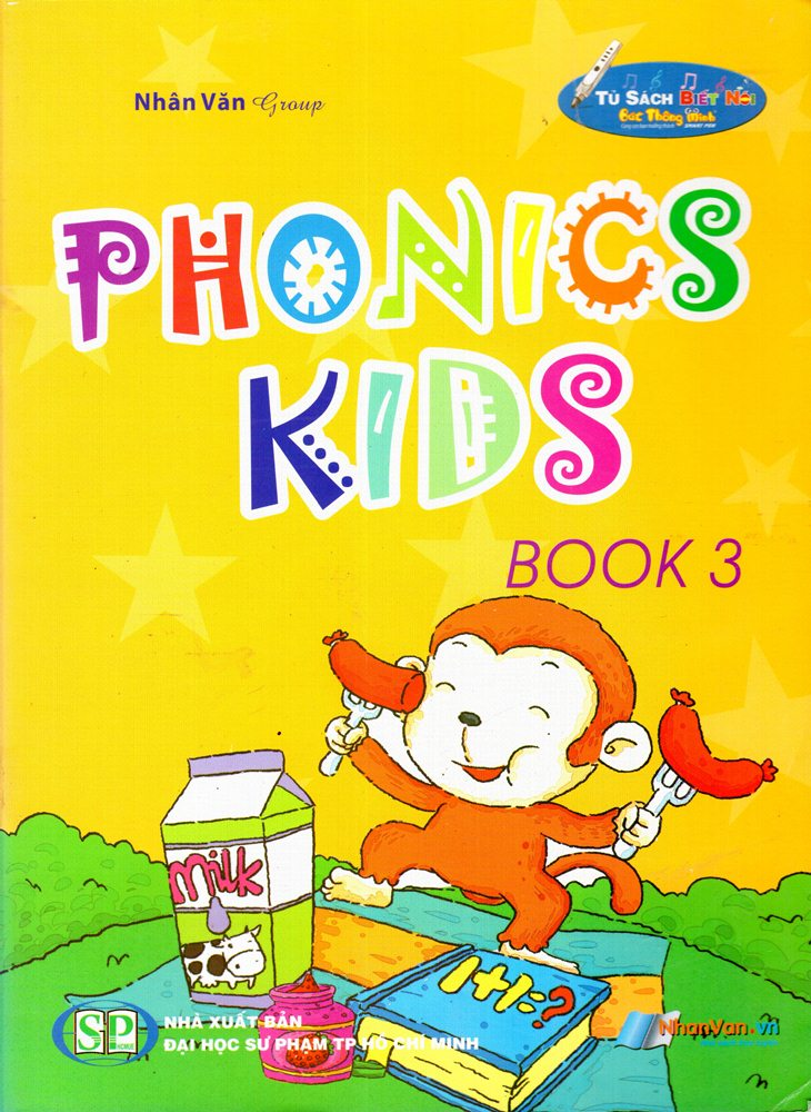 Bìa sách Phonics Kids (Book 3)