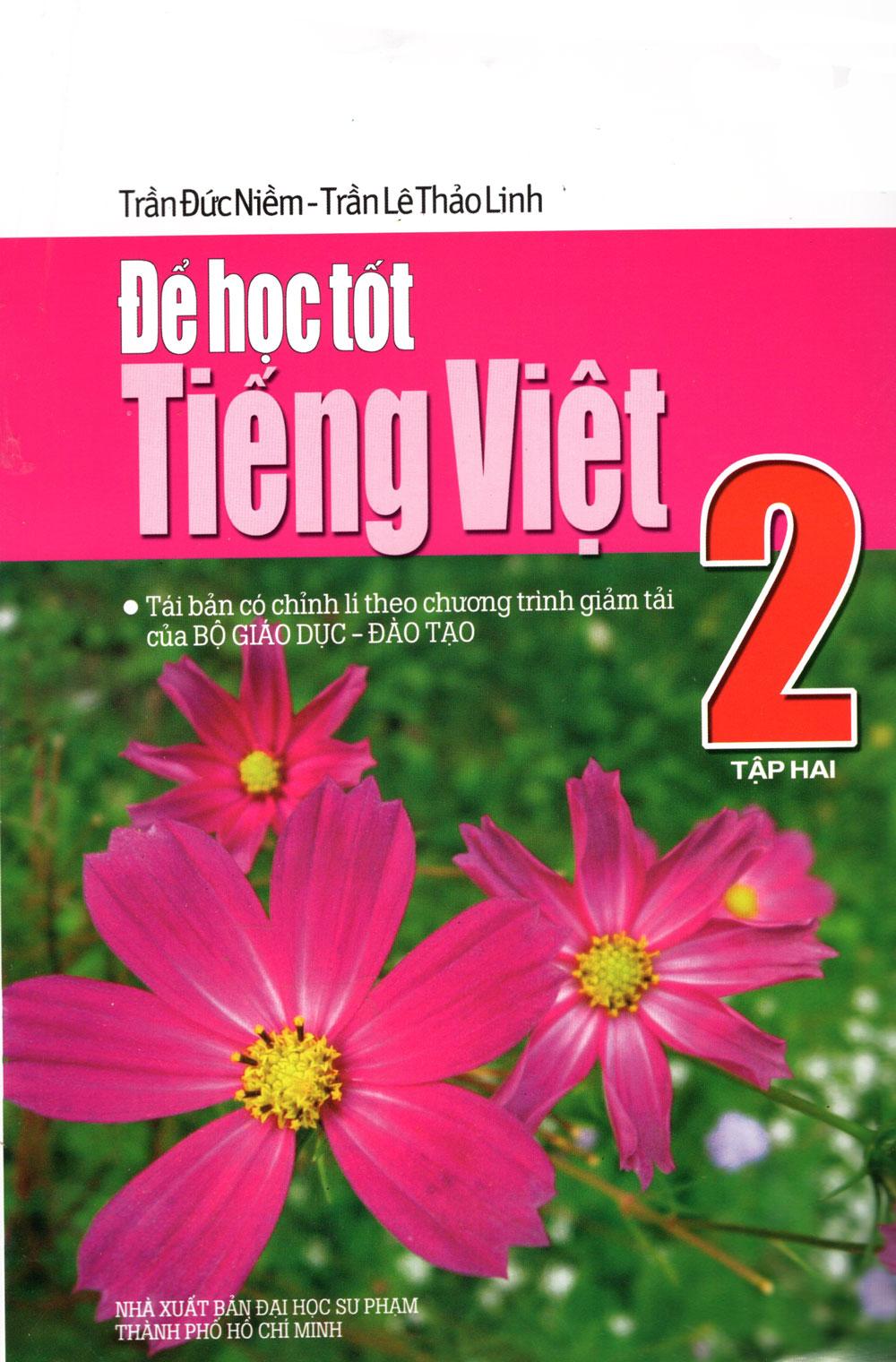 Bìa sách Để Học Tốt Tiếng Việt Lớp 2 (Tập 2)