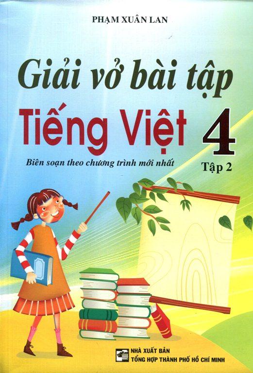 Bìa sách Giải Vở Bài Tập Tiếng Việt Lớp 4