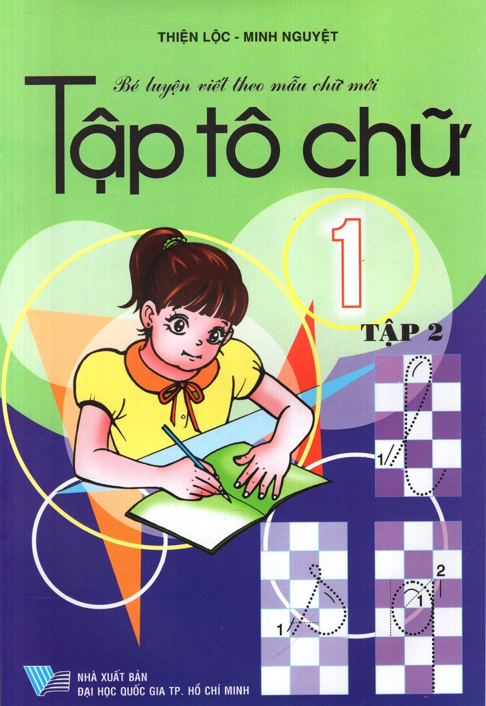 Bìa sách Tập Tô Chữ Lớp 1 (Tập 2) (2013)