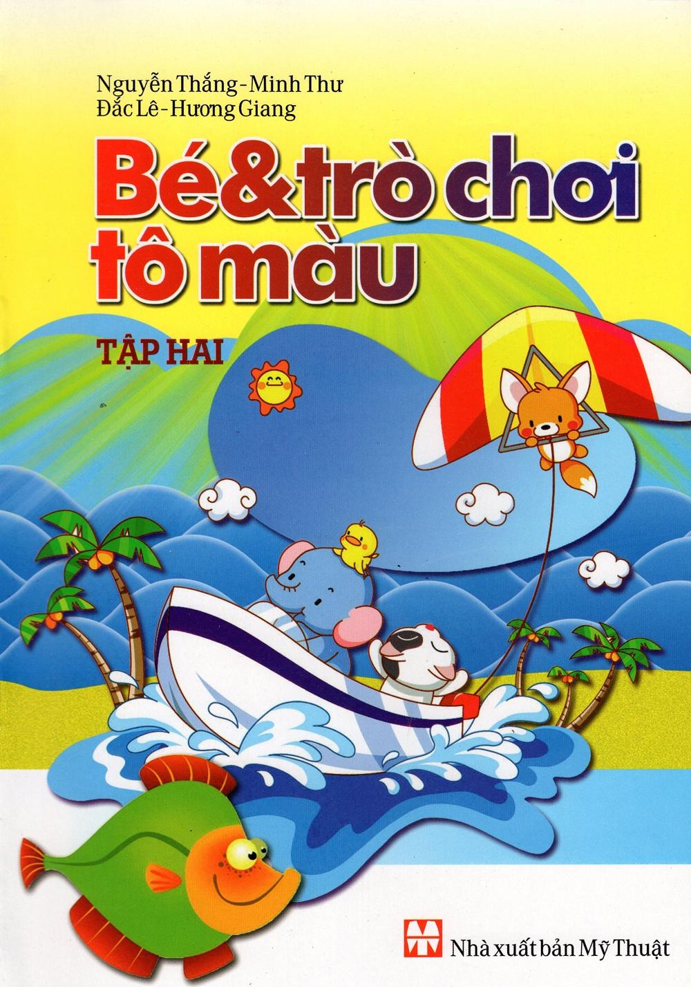 Bìa sách Bé  Trò Chơi Tô Màu (Tập Hai)