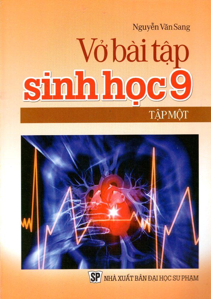 Bìa sách Vở Bài Tập Sinh Học Lớp 9 (Tập 1)