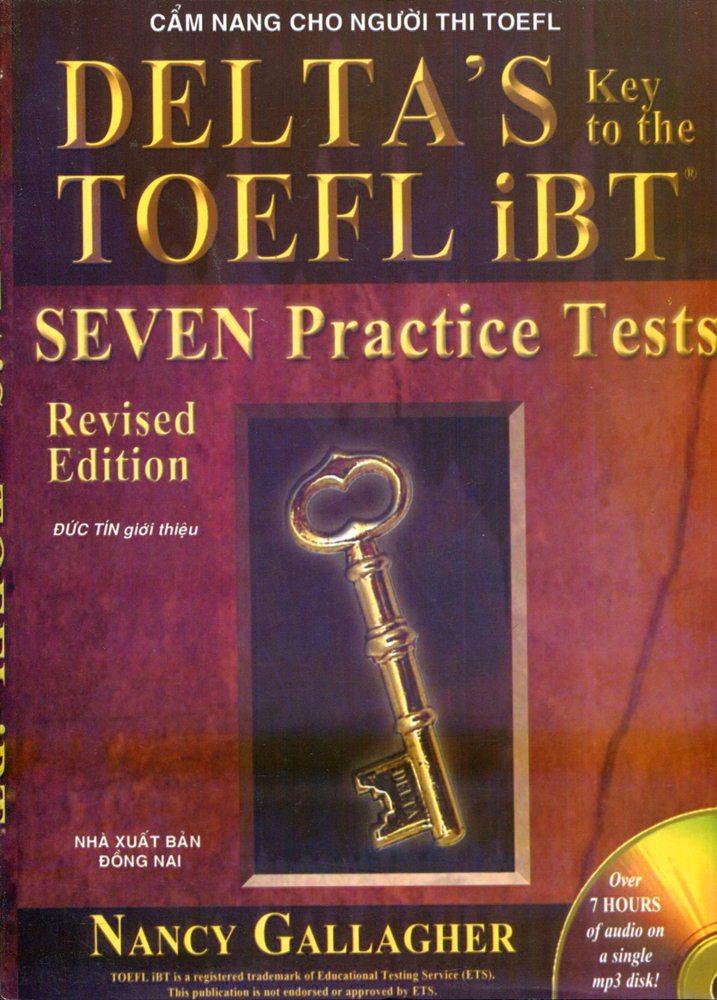Bìa sách Cẩm Nang Cho Người Thi TOEFL - Delta's Key - Seven Practice Tests