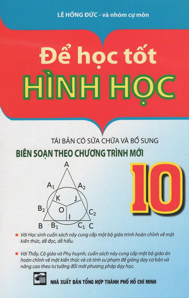 Bìa sách Để Học Tốt Hình Học Lớp 10