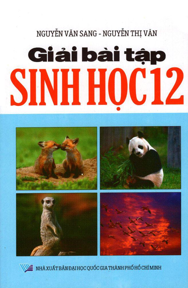 Bìa sách Giải Bài Tập Sinh Học Lớp 12 (2012)