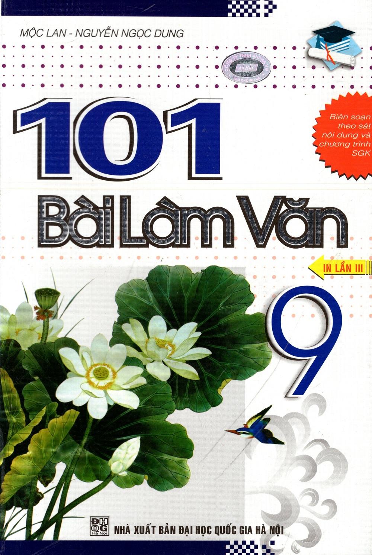 Bìa sách 101 Bài Làm Văn Lớp 9