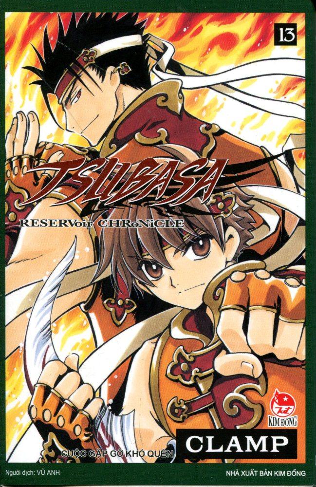 Bìa sách Tsubasa (Tập 13)