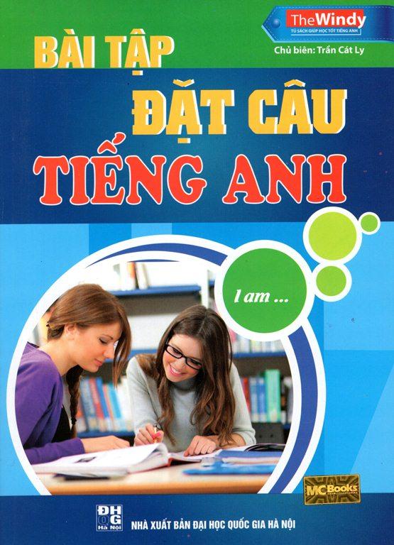 Bìa sách Bài Tập Đặt Câu Tiếng Anh (Tái Bản 2015)