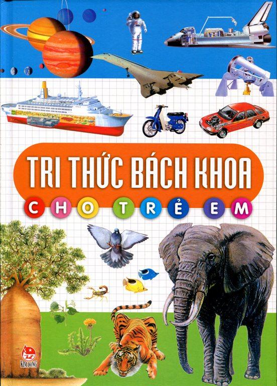 Bìa sách Tri Thức Bách Khoa Cho Trẻ Em