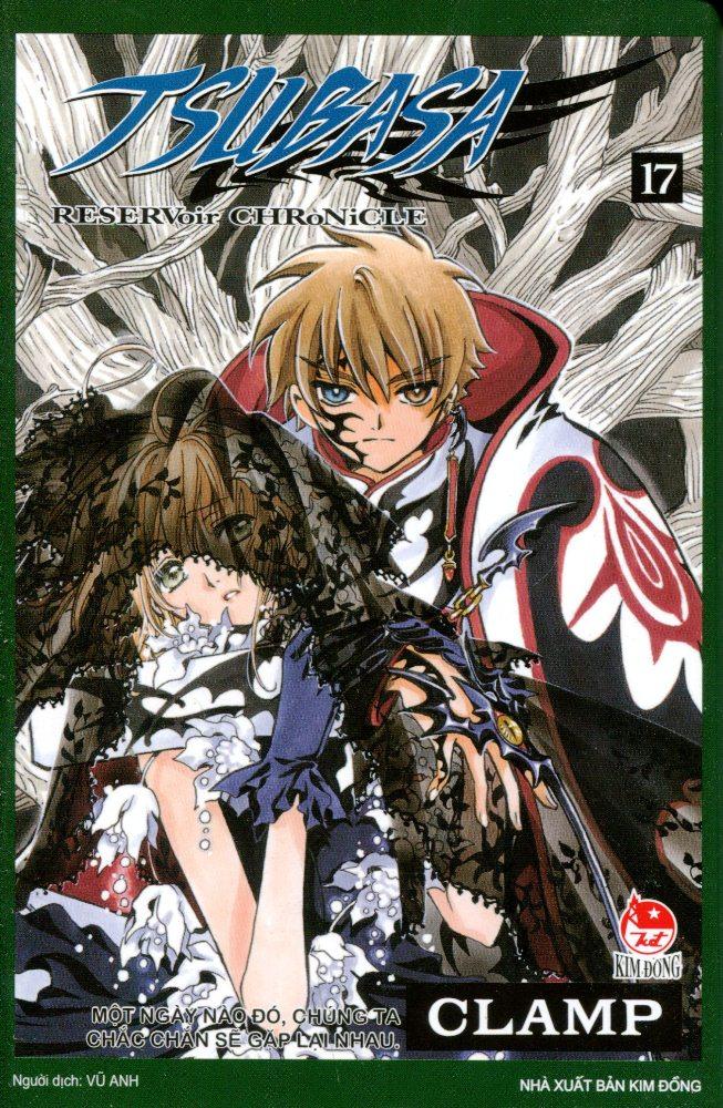 Bìa sách Tsubasa - Đôi cánh thiên thần (Tập 17)