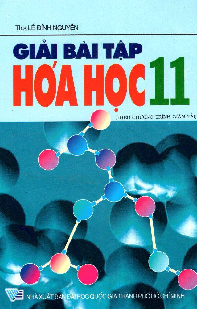 Bìa sách Giải Bài Tập Hóa Học Lớp 11 (2013)