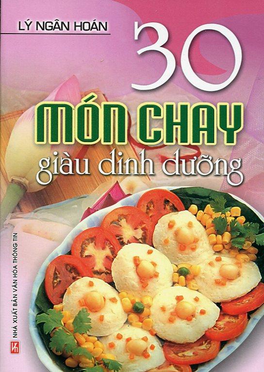 Bìa sách 30 Món Chay Giàu Dinh Dưỡng