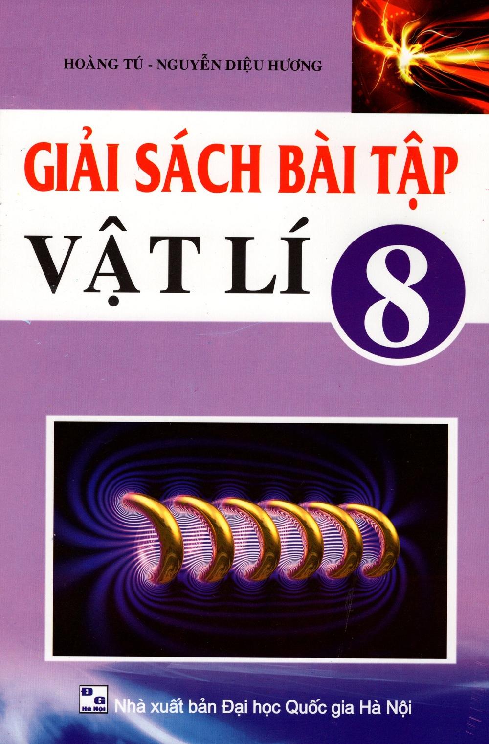 Bìa sách Giải Sách Bài Tập Vật Lí Lớp 8