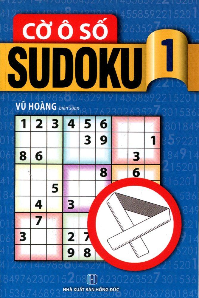 Bìa sách Cờ Ô Số Sudoku (Tập 1)