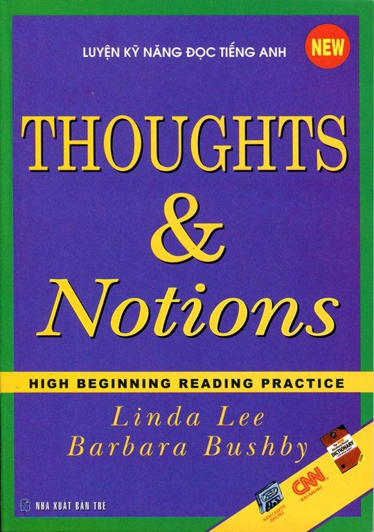 Bìa sách Thought And Notions (Kèm CD) - Tái Bản