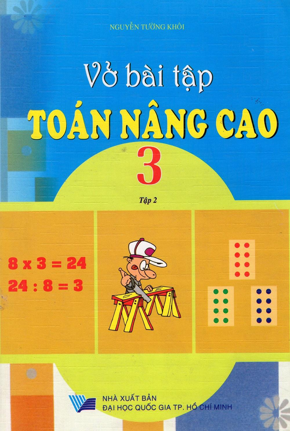Bìa sách Vở Bài Tập Toán Nâng Cao Lớp 3 (Tập 2)