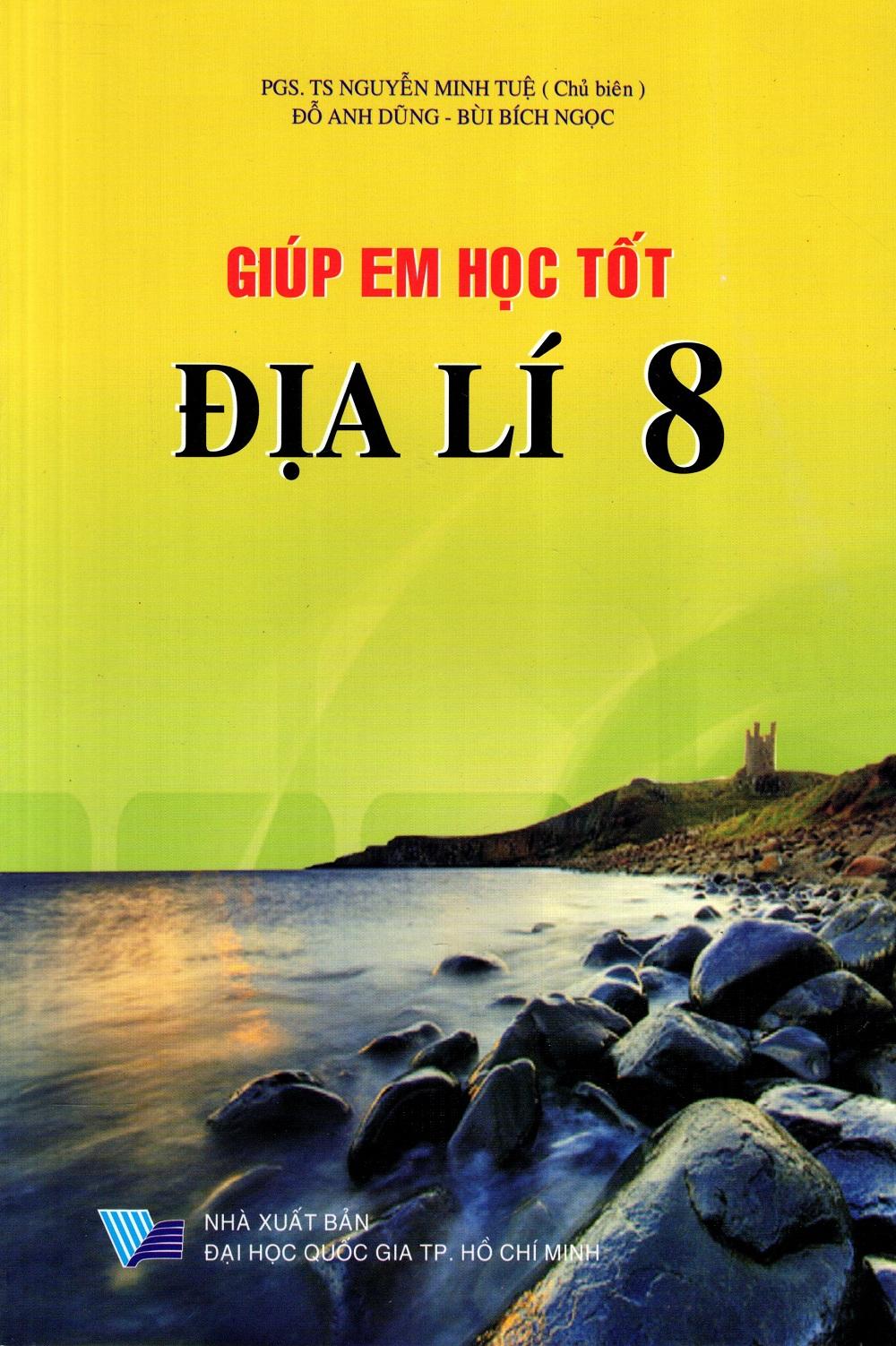 Bìa sách Giúp Em Học Tốt Địa Lí Lớp 8