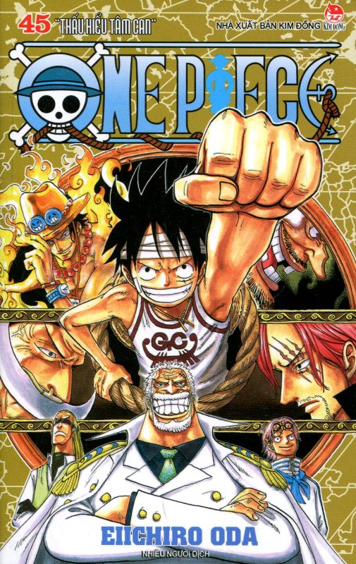 Review sách One Piece – Tập 45