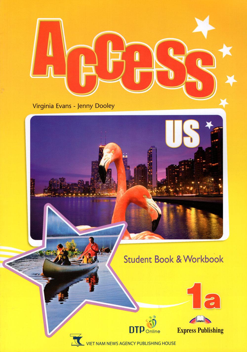 Bìa sách Access US 1A Student
