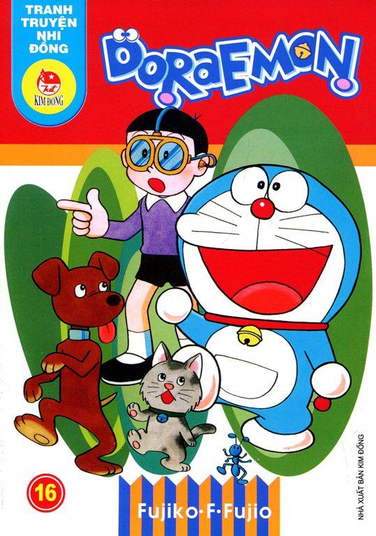 Bìa sách Truyện Tranh Nhi Đồng - Doraemon (Tập 16)
